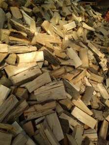 lisciaste Drewno opałowe wworkach.