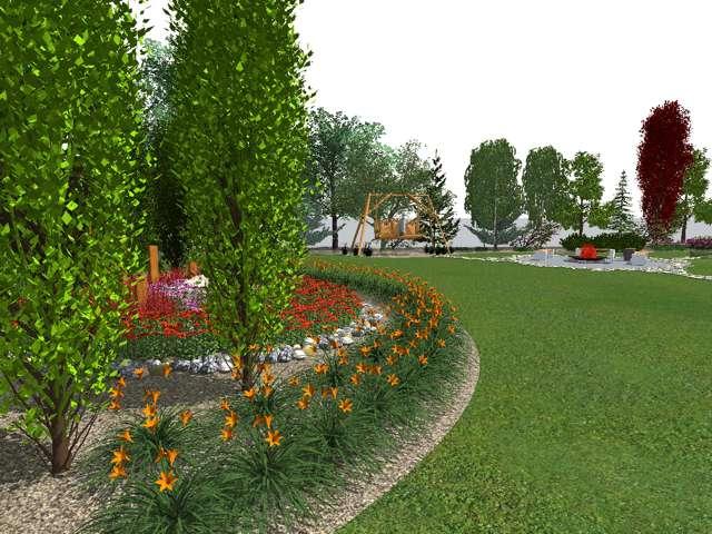 rabata-roslinna Jak zaplanować ogród