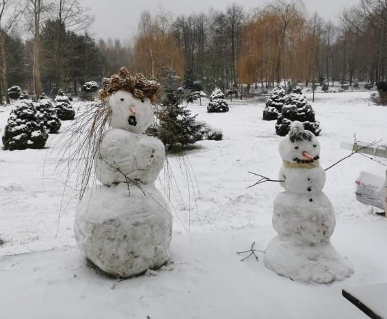 balwany Jak wykorzystać śnieg w ogrodzie?