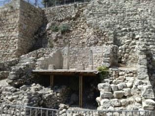 Jedno z najstarszych miejsc w świętym mieście, dom, datowany na czasy około króla Dawida (X wiek przed Chr.). Znajduje się na Syjonie ale archeologicznym.