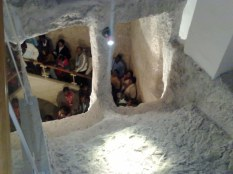 Łaźnia do rytualnych oczyszczeń zmieniła przeznaczenie 2-krotnie. Najpierw stała się cysterną a potem miejscem kultu chrześcijańskiego, gdzie wspominano łzy św. Piotra po zaparciu się Pana Jezusa.