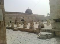 Meczet Al-Aqsa. Miejsce najdalej oddalone od Mekki, do którego dotarł Mohammed