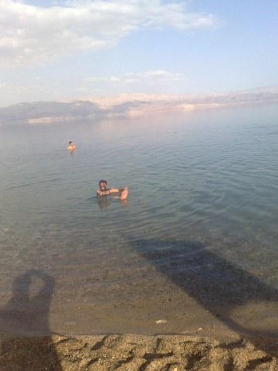 A wszystko to w niedalekim oddaleniu od Morza Martwego...