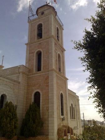 Nieopodal Betlejem znajduje się pole pasterzy. Właściwie są 2: na zdjęciu greckie pole pasterzy...