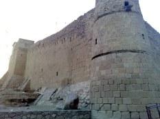 Do chwili obecnej mur obronny robi wrażenie na odwiedzających.