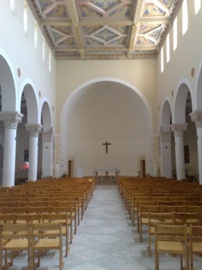 W chwili obecnej znajduje się tutaj kościół pod wezwaniem Maryi - Arki Przymierza, wybudowany na ruinach kościoła z V wieku, w którym obchodzono święto Arki w dniu 2 lipca