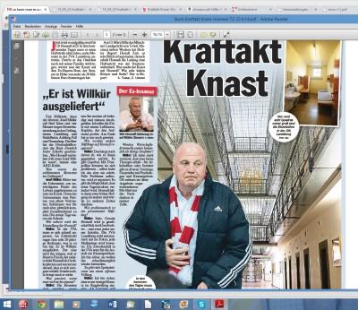 Buch Kraftakt Knast Hoeness TZ 22.4.14.