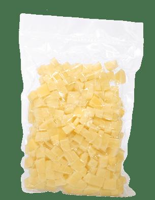 Ziemniaki obrane krojone w kostkę