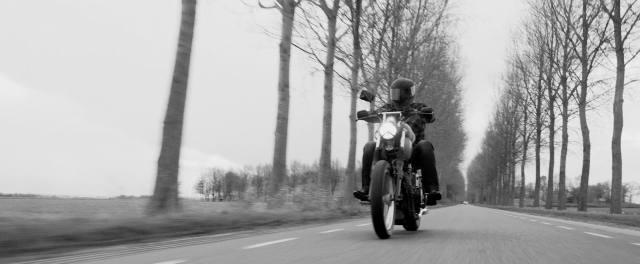 Custom Comfort Motor Zwart Wit