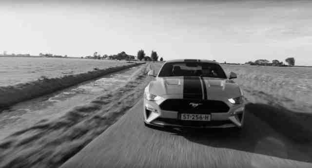 Mustang Afb. 6 Black & White