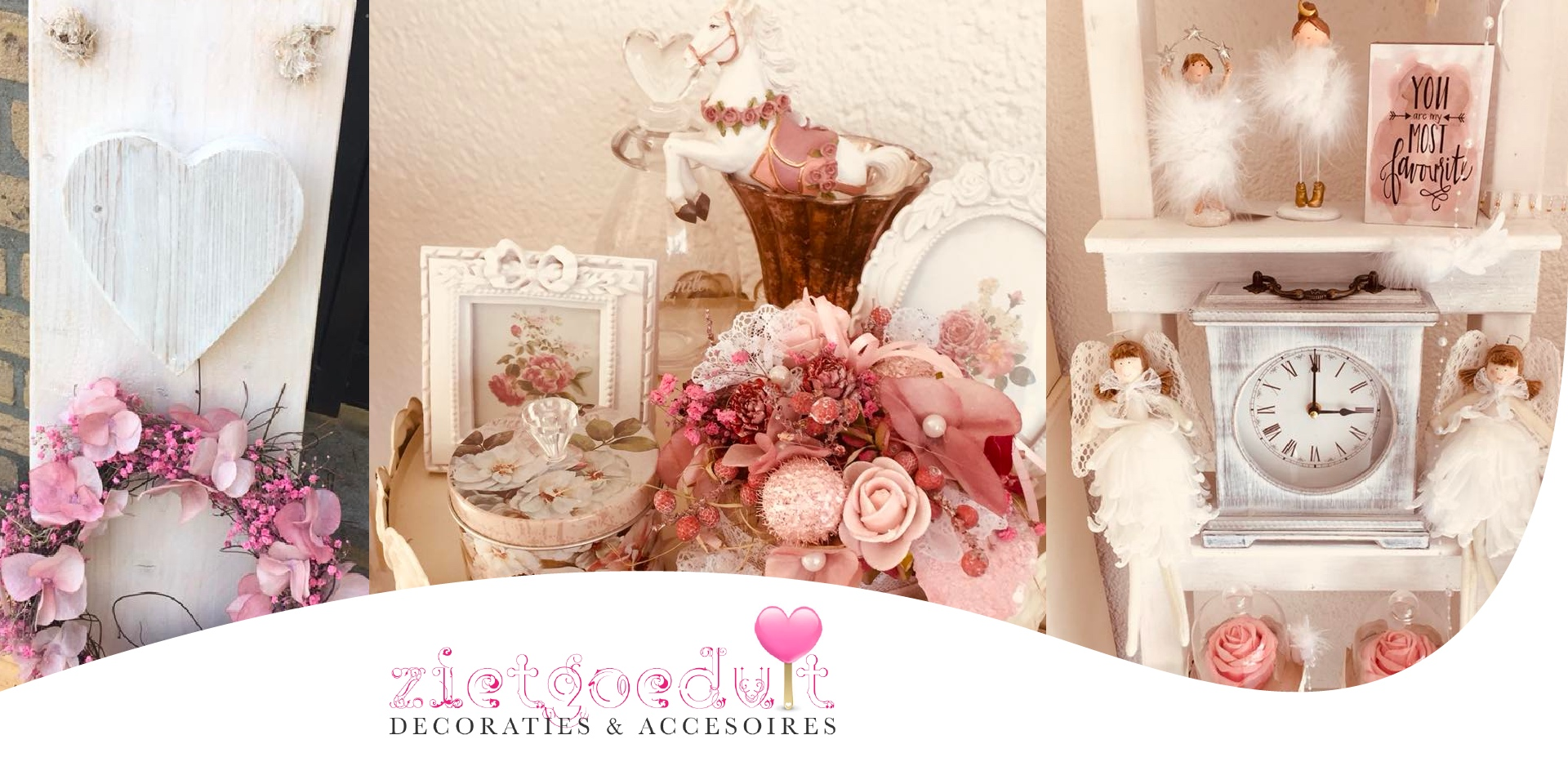 Zietgoeduit decoraties en accesoires
