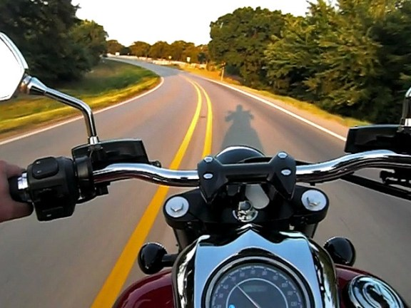 Motorcyclists need to put away their cell phones and keep their eyes on the road.