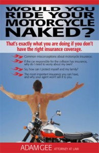 book naked 194x300 - Most Motorcyclists Don't Have Enough Insurance, Says NY and PA Motorcycle Law Attorney