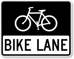 bike lane sign x r3 17 300x242 - It's Already Been a Deadly Year for NYC Bicyclists.....And It's Only March