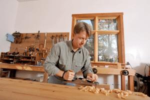 JimReed woodworking 300x200 - Attorney Jim Reed