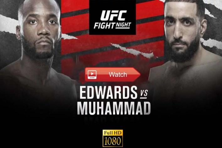 Mma Streams: Ufc Fight Night 187: Edwards Vs. Muhammad Reddit Live Streams Free Online