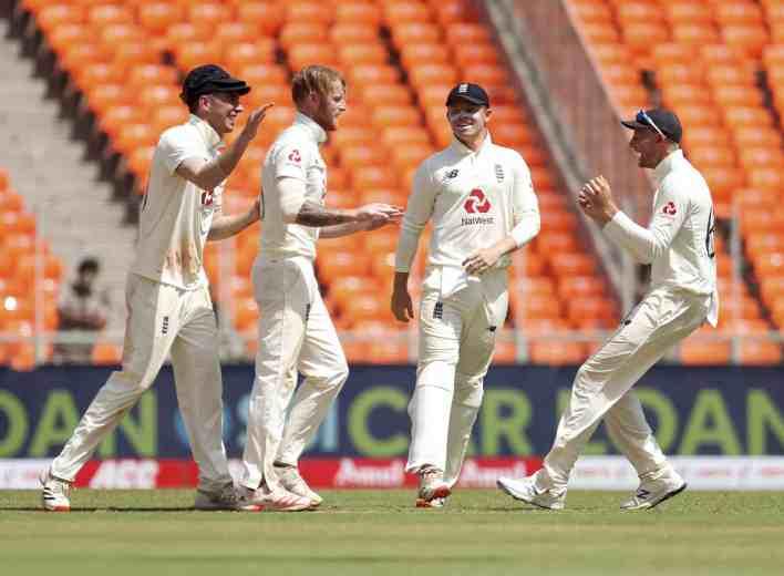 Ben Stokes Celebrates Taking A Wicket
