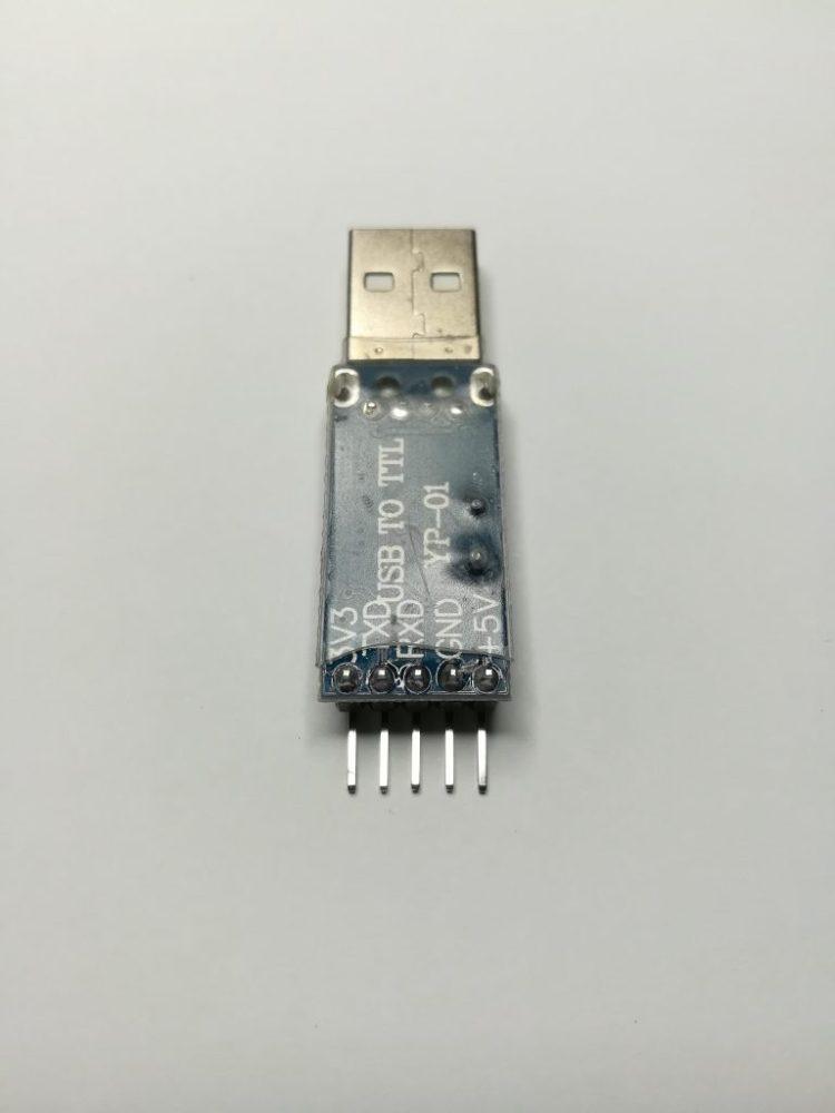 USB-TTL face