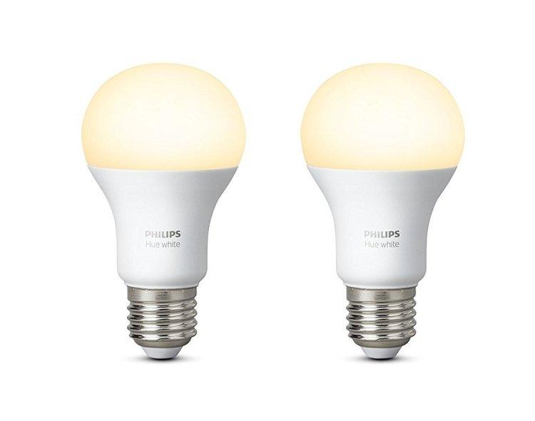 Philips Hue - Ampoules E27 Blanc 800 lumen