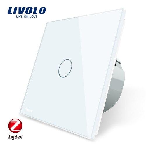 Interrupteur mural simple Livolo