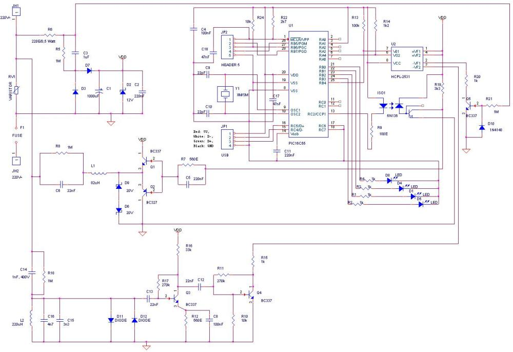 medium resolution of here is the schematic used for the cm11a compatible x10 modem