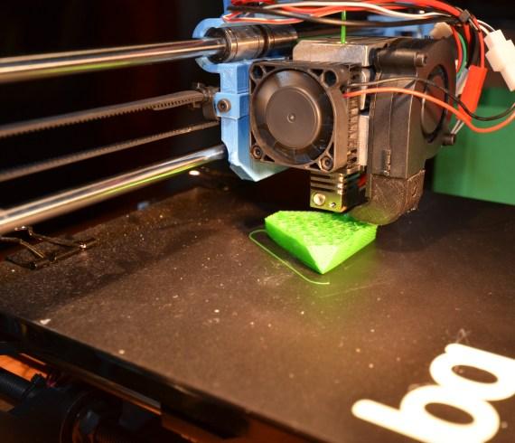 3D-Drucker Abend mit Marius und seinem Prusa i3 Hephestos