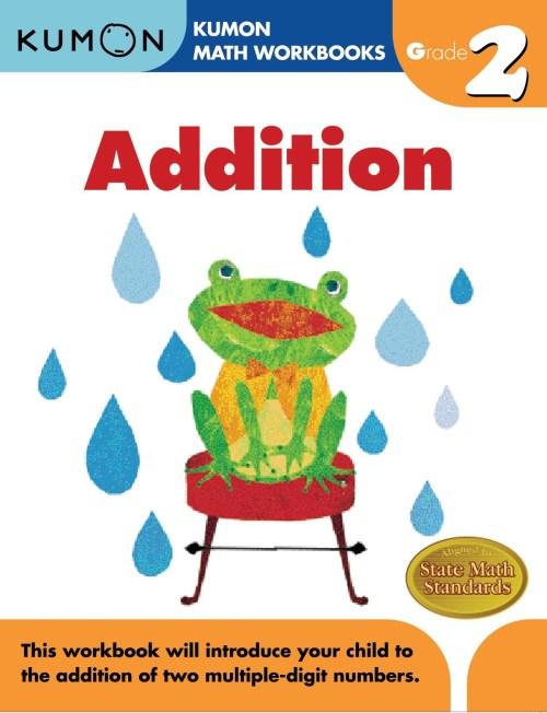 small resolution of Kumon Addition Grade 2 - Ziggies Educational Supplies