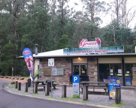 Grants picnic ground is a popular tourist spot located only a few kilometres from Tecoma. Photo: Amy Robertson
