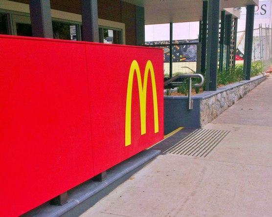 Tecoma McDonald's. Photo: Amy Robertson