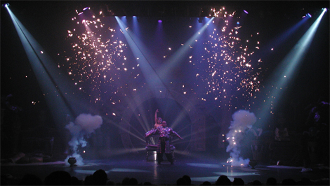 Magic FX  florida indoor pyrotechnics  Fireworks in