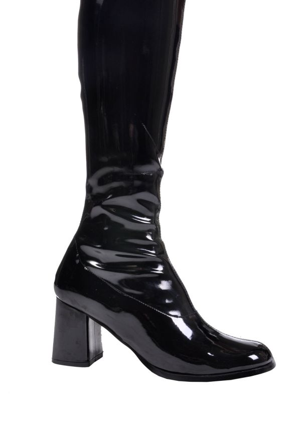 Funtasma Gogo 300 3 Block Heel Boots Side Zipper