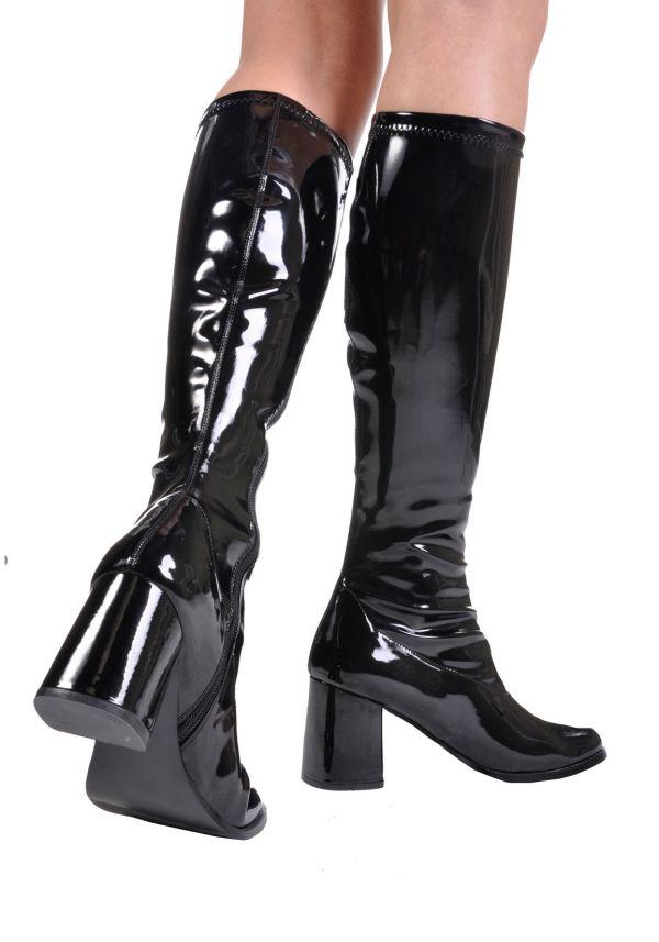 Pleaser-gogo-300-3-block-heel-gogo-boots-side-zipper