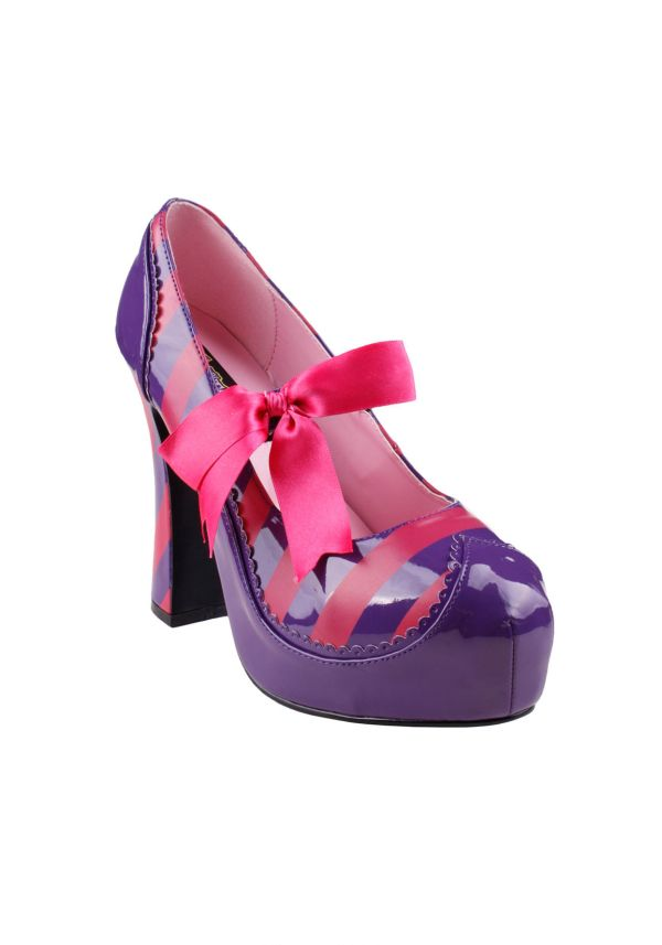 Pleaser Kitty-32 Women' 4 Chunky Heel Mary Jane With