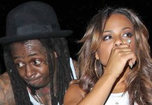 Christina Milian not wearing ring, leaves Playhouse with Lil Wayne