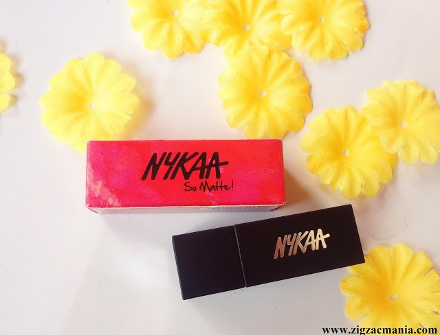 Nykaa So Matte Lipstick (Naughty Nude 11) Review