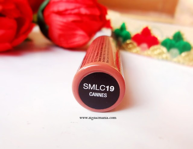 NYX Soft Matte Lip Cream in shade Cannes Review and Swatch