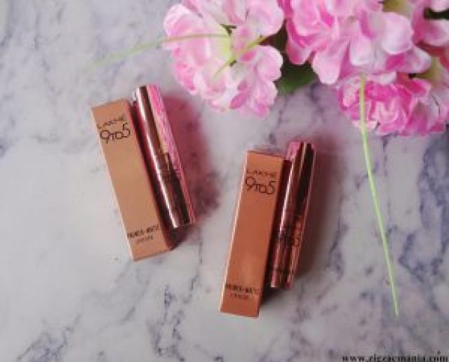 Lakme 9 To 5 Primer Matte Lipstick in Rosy Sunday (MP7) & Blush Book (M19): Review & Swatches