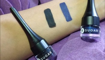 Sugar Born To Wing Eyeliner Blue & Black  Review & Swatches