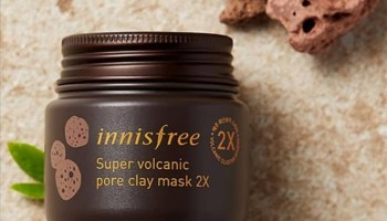 Innisfree Super Volcanic Pore Clay Mask| Review