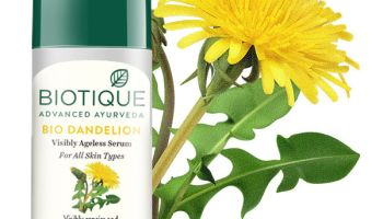 Biotique bio dandelion visibly ageless serum| Review