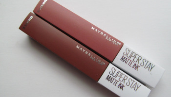 Maybelline's Superstay Matte Ink Liquid Lipsticks (Seductress & Amazonian)|Review & Swatches