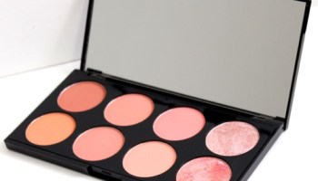 Makeup Revolution Ultra Professional Blush Palette in Hot Spice|Review