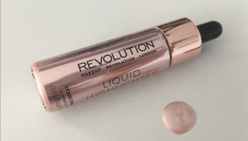 Revolution Liquid Highlighter(Bronze Gold)| Review & Swatch