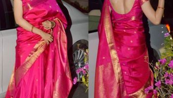 How To Wear A Silk Saree Perfectly|Step By Step Tutorial