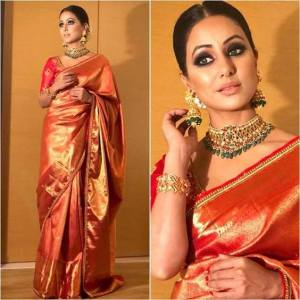 How To Wear Banarsi Saree