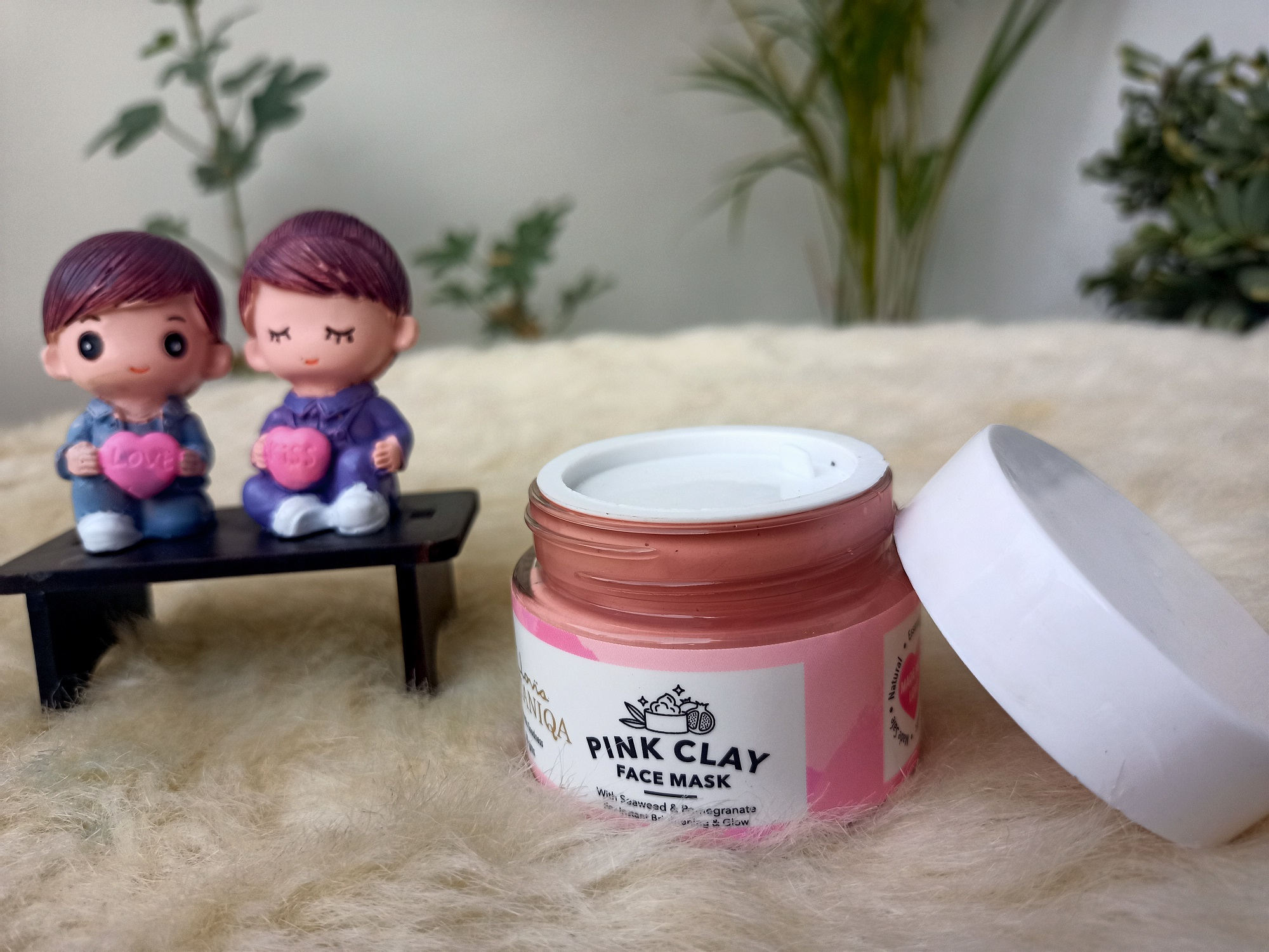 Clovia Botaniqa Pink Clay Face Mask