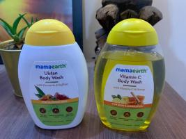 MamaEarth (Ubtan) & (Vitamin C) Body Wash| Review
