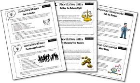 GCSE English Language SOS Non-Fiction Writing Cards