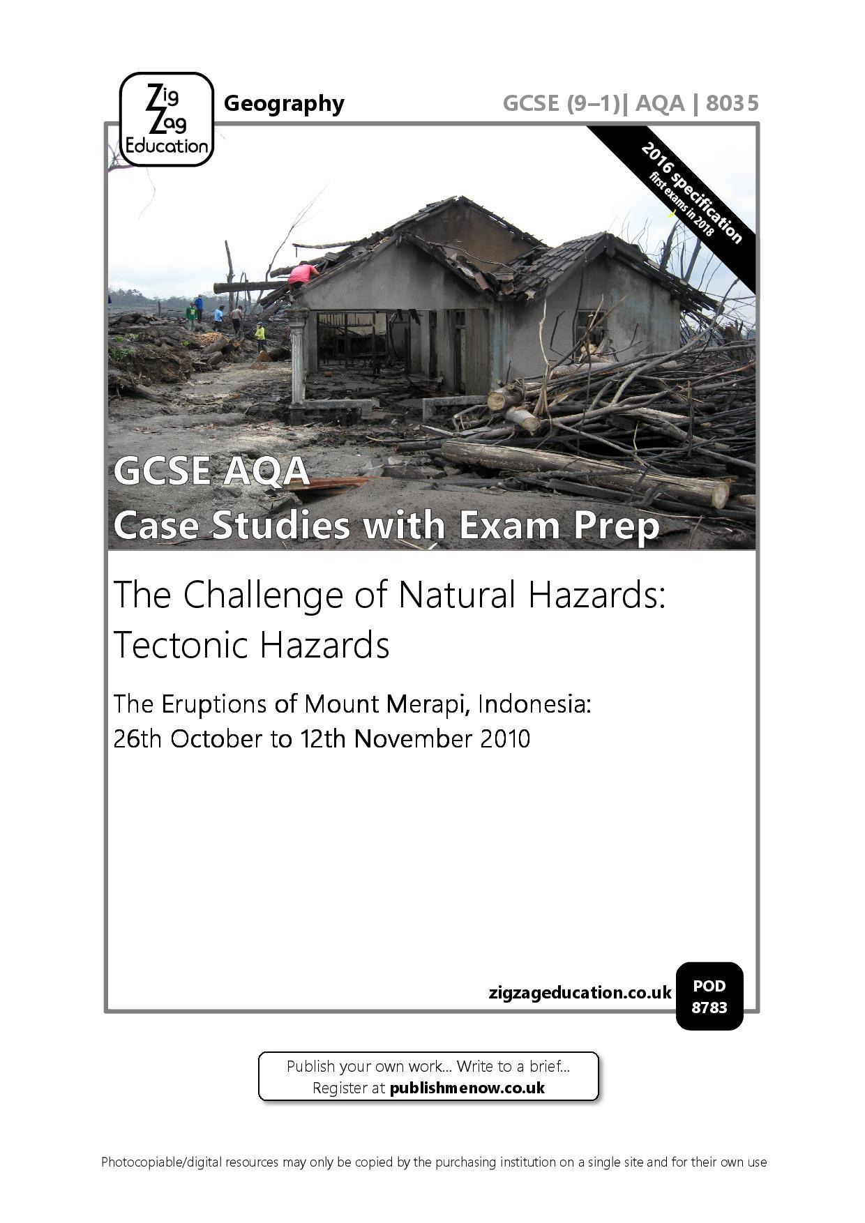 GCSE AQA Case Studies with Exam Prep.