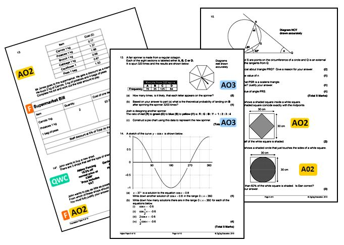 GCSE Linear Maths Practice Papers